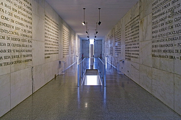 Museo da Fundacao de Brasilia, architect Oscar Niemeyer, Brasilia, UNESCO World Heritage Site, Brazil, South America