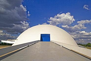 Dome, architect Oscar Niemeyer, Brasilia, UNESCO World Heritage Site, Brazil, South America
