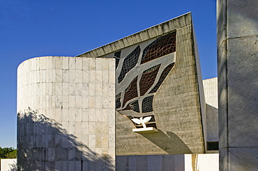 Panteaoda Liberdade e da Democracia, architect Oscar Niemeyer, Brasilia,UNESCO World Heritage Site, Brazil, South America