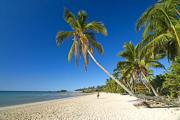 The beautiful beach of Andilana, Nosy Be, Madagascar, Indian Ocean, Africa