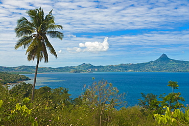 View over the island of Grand Terre, Mayotte, French Departmental Collectivity of Mayotte, Indian Ocean, Africa