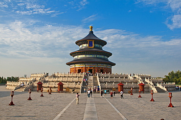 The Temple of Heaven, UNESCO World Heritage Site, Bejing, China, Asia