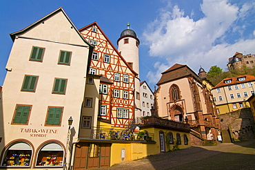 The historic town of Wertheim, Baden Wurttemberg, Germany, Europe