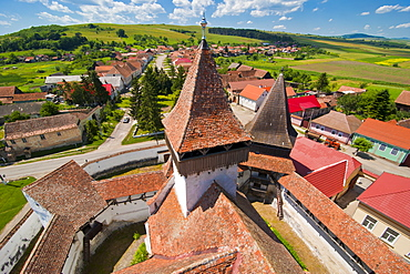 Homorod, UNESCO World Heritage Site, Saxonian churches, Romania, Europe