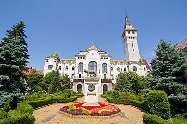 County Council Building dating from 1907, Targu Mures (Neumarkt), Transylvania, Romania, Europe