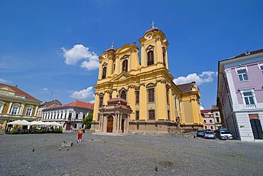 Unirii square, Temeswar (Timisoara), Romania, Europe