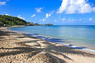 Beach in Noumea, New Caledonia, Melanesia, South