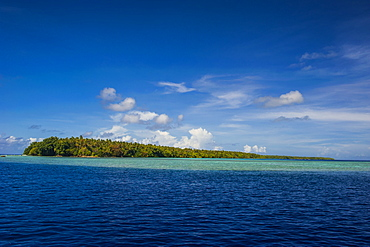 Little islet in the Ant Atoll, Pohnpei, Micronesia, Pacific
