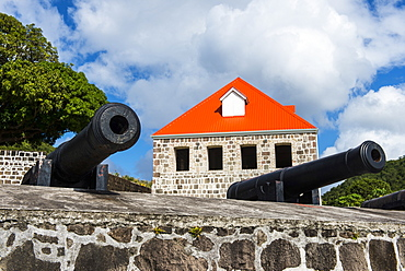 Old British Fort Shirley, Dominica, West Indies, Caribbean, Central America