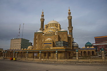 Jalil Khayat Mosque in Erbil (Hawler), capital of Iraq Kurdistan, Iraq, Middle East