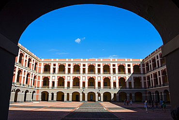 Ballaja Barracks, Museum of Americas highlights colourful folk art, old town of San Juan Historic Site, UNESCO World Heritage Site, Puerto Rico, West Indies, Caribbean, Central America