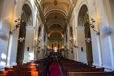 La Santa Catedral San Juan Bautista de Puerto Rico, West Indies, Caribbean, Central America