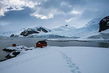 Argentinean research station on Danco Island, Antarctica, Polar Regions