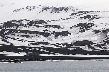 Old abandoned whaling station, Deception Island, South Shetland Islands, Antarctica, Polar Regions