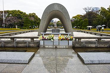 Hiroshima Peace Memorial, Hiroshima, Japan, Asia