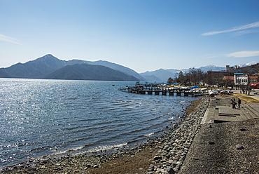 Lake Chuzenji (Chuzenjiko) in Chuzenjiko Onsen, Nikko National Park, Nikko, Kanto, Japan, Asia