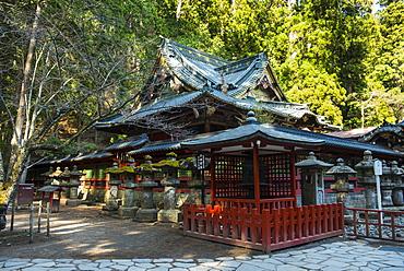 Futarasan Shrine, UNESCO World Heritage Site, Nikko, Kanto, Japan, Asia
