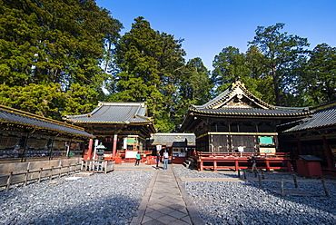 Toshogu Shrine, UNESCO World Heritage Site, Nikko, Kanto, Japan, Asia