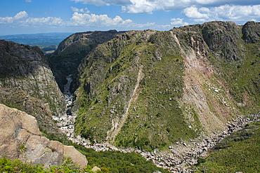View over the mountains around Mina Clavero, Argentina, South America