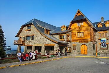 Town square of Bariloche, Argentina, South America