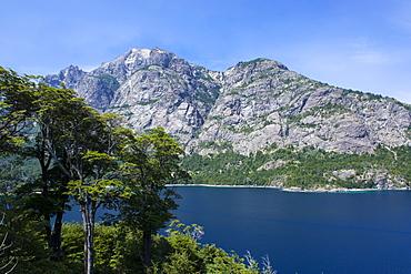 Nahuel Huapi lake near Bariloche, Argentina, South America