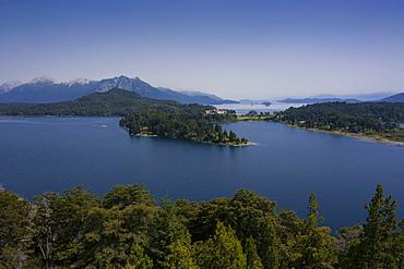 Hotel Llao Llao in the Nahuel Huapi lake near Bariloche, Argentina, South America