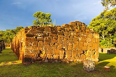 The Mission of San Ignacio Mini, UNESCO World Heritage Site, Argentina, South America