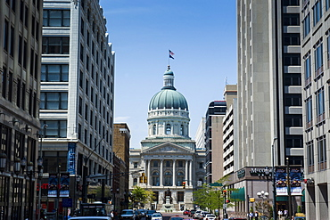 Indiana Statehouse, the State Capitol Building, Indianapolis, Indiana, United States of America, North America