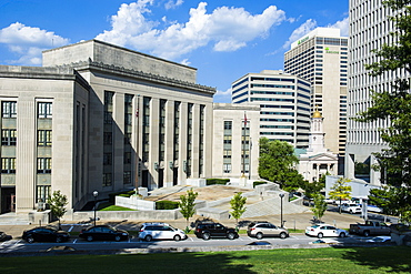 Business district of Nashville, Tennessee, United States of America, North America