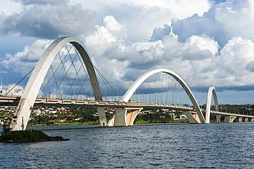 Bridge Kubitschek (JK Bridge), Brasilia, Brazil, South America