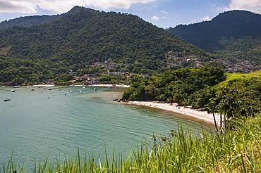 Little bay between Paraty and Rio de Janeiro, Brazil, South America