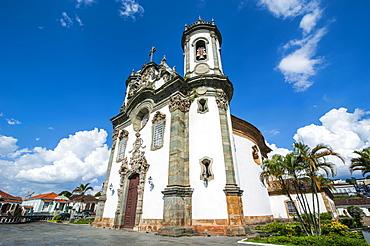 Church Sao Francisco de Assis in Sao Joao del Rei, Minas Gerais, Brazil, South America