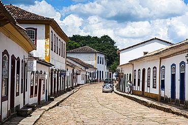 Historical mining town, Tiradentes, Minas Gerais, Brazil, South America