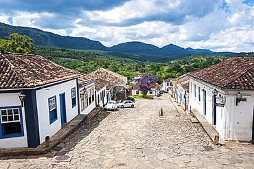Historical mining town Tiradentes, Minas Gerais, Brazil, South America