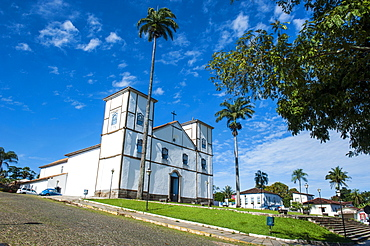 Matrix Church of Our Lady of the Rosary, Pirenopolis, Goais, Brazil, South America