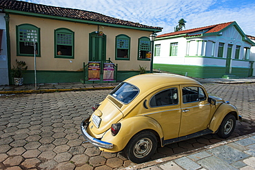 Rusting beetle in the historic town of Pirenopolis, Goais, Brazil, South America