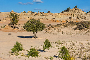 Walls of China, a series of Lunettes in the Mungo National Park, part of the Willandra Lakes Region, UNESCO World Heritage Site, Victoria, Australia, Pacific