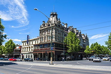 Historical Shamrock Hotel, Bendigo, Victoria, Australia, Pacific