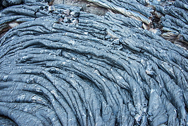 Cold lava after an eruption of Tolbachik volcano, Kamchatka, Russia, Eurasia
