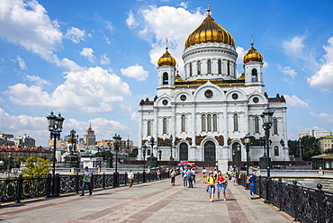 Cathedral of Christ the Saviour, Moscow, Russia, Europe