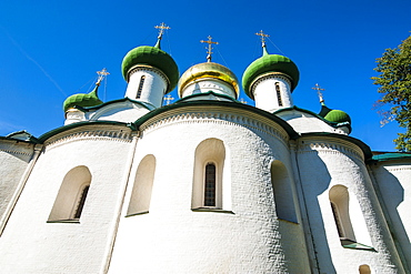 Cathedral of the Transfiguration of the Saviour in the Kremlin, UNESCO World Heritage Site, Suzdal, Golden Ring, Russia, Europe