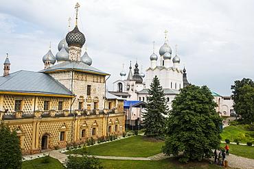 The Kremlin of Rostov Veliky, Golden Ring, Russia, Europe