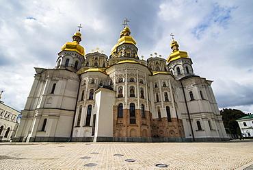 Domition cathedral, the Kiev-Pechersk Lavra, UNESCO World Heritage Site, Kiev (Kyiv), Ukraine, Europe