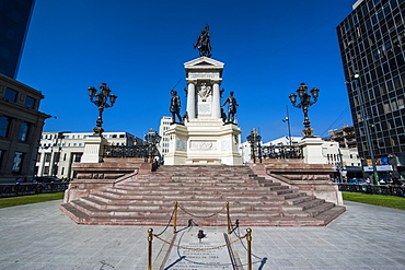 Monument to the Heroes of Iquique, Valparaiso, Chile, South America