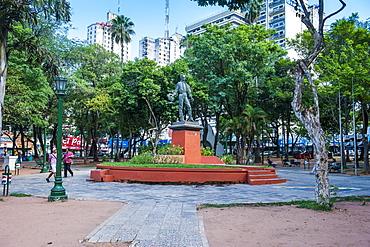 Uruguay Square in Asuncion, Paraguay, South America