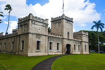 Iolani Barracks, Honolulu, Oahu, Hawaii, United States of America, Pacific