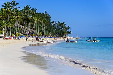Beach of Bavaro, Punta Cana, Dominican Republic, West Indies, Caribbean, Central America