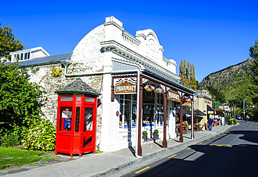 Historical house in Arrowtown, Otago, South Island, New Zealand, Pacific