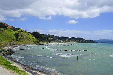 The coastline of Northern Coromandel, North Island, New Zealand, Pacific