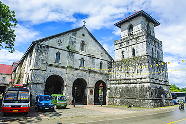 Colonial Spanish Church of Our Lady of the Immaculate Conception, Baclayon Bohol, Philippines, Southeast Asia, Asia
